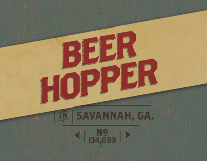 Beer Hopper IPad App