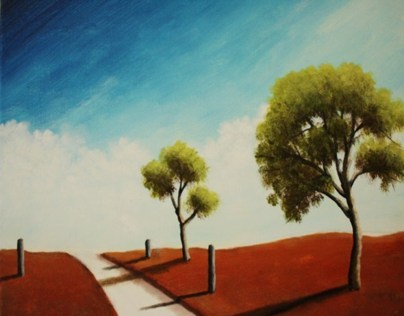 Simple Landscape Paintings