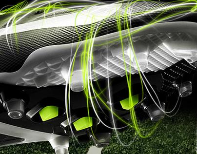 Nike Vapor Talon Visual Design + Motion Storyboard