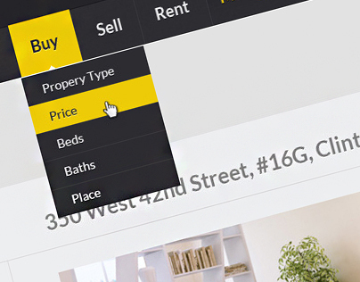 Web Design: Luxury Real Estate PSD Theme