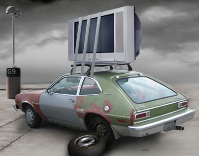SHARP Large-Screen TV