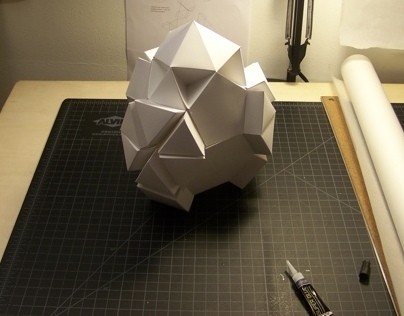 Unique Symmetrical Polyhedron