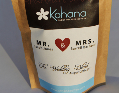 MR. & MRS Kohana coffee