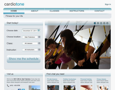 Cardiotone - Web Templates and Custom Layout
