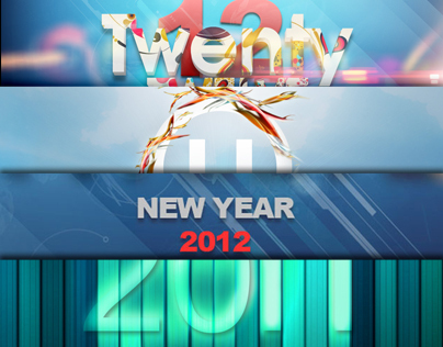 New Year Artworks