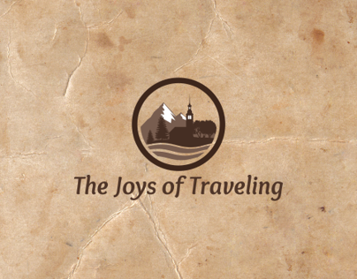 The Joys of Traveling logo design