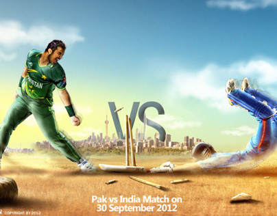 T20 Cricket Poster (design levels available)