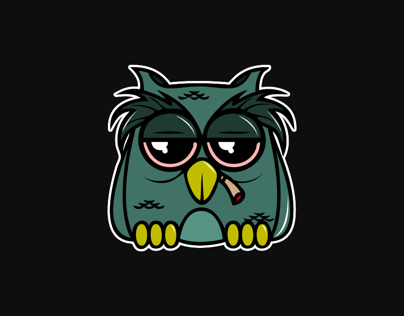 Second Character Design - Wise Owl!