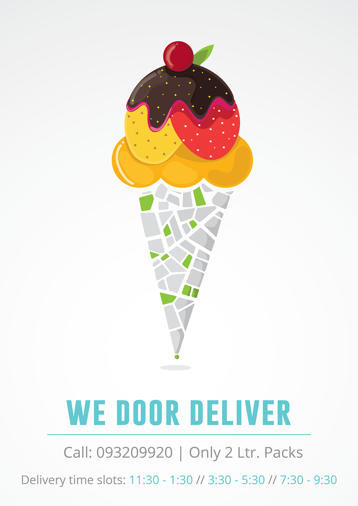 Ice Cream Delivery Posters