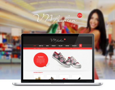 VN Fashion Website |  Designed by Weeds Brand