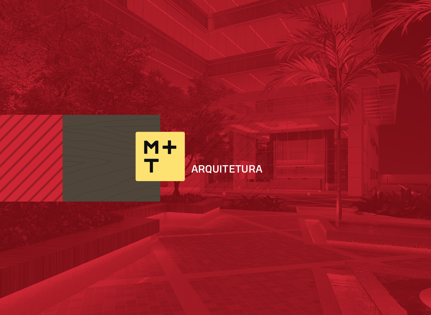 M+T Arquitetura Identity and Website