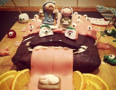 Birthday graphiccake