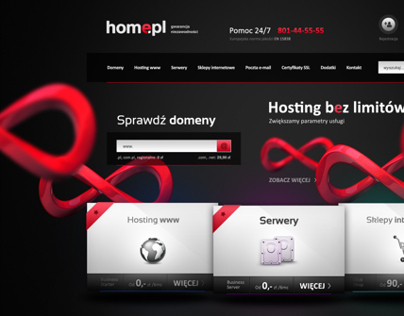 Home.pl redesign