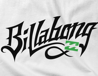 Billabong Typography