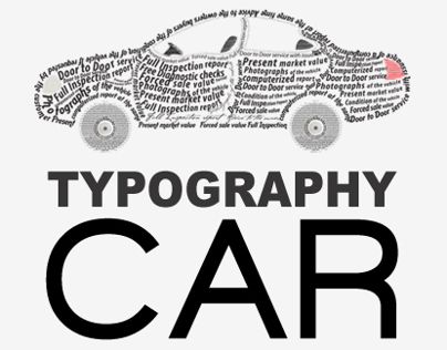E-VALUATION | Typography Car