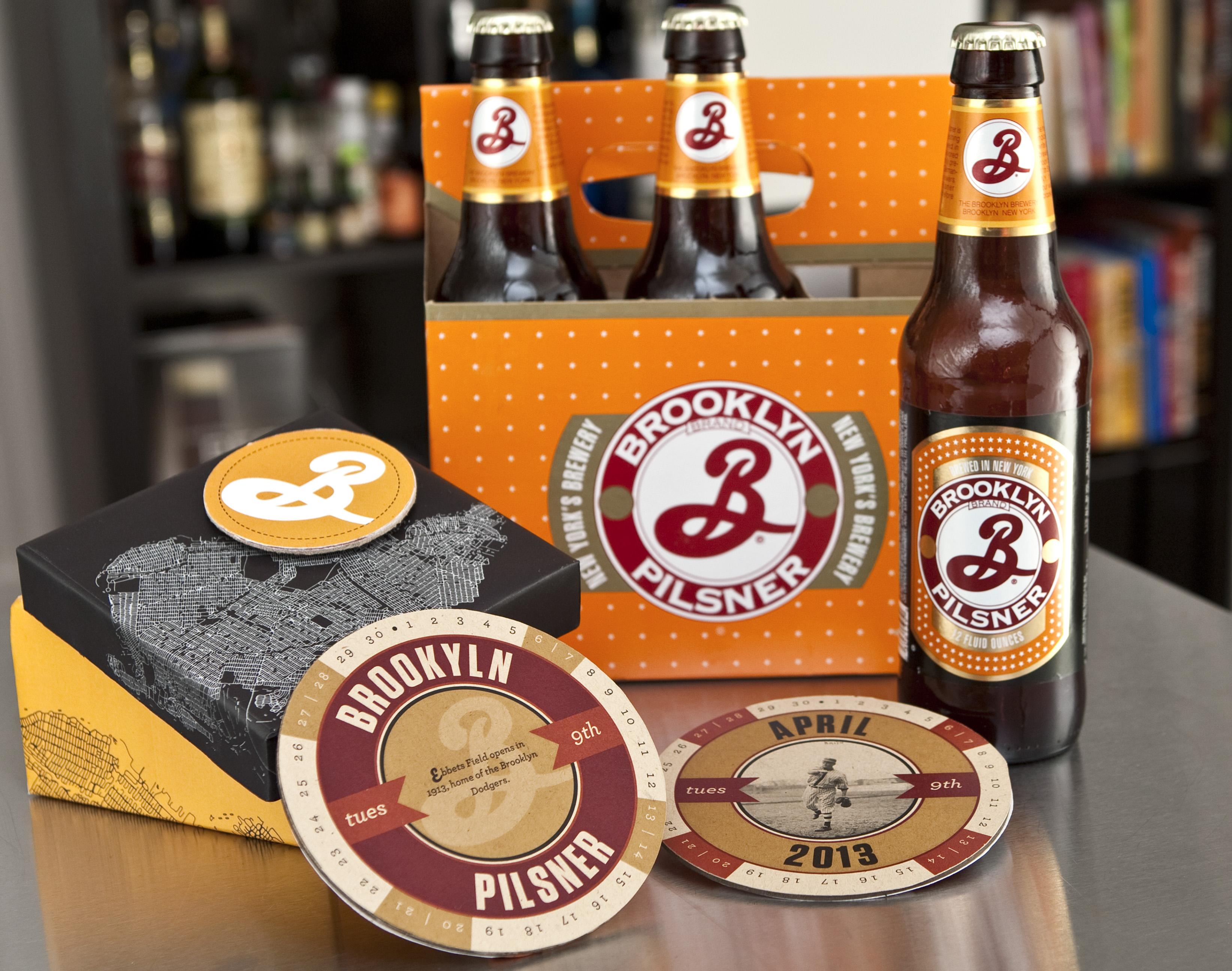 Brooklyn Brewery Calendar Coasters