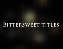 Bittersweet Titles