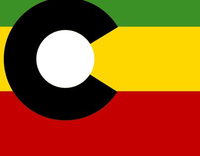 ColoRasta Flag Sticker