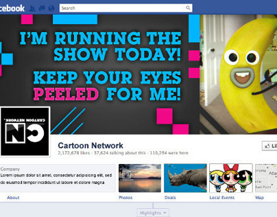 Cartoon Network April Fools Takeover