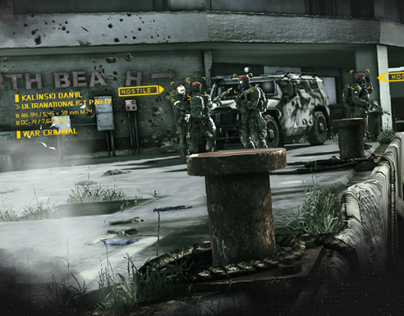Ghost Recon Future Soldier Interactive OOH