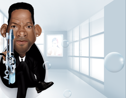 Caricatura Will Smith