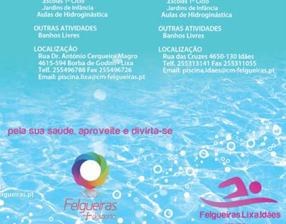 Flyer Piscina de Felgueiras