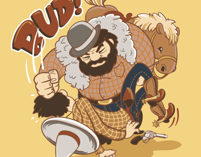 Bud Spencer contest t-shirt design
