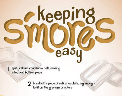 6 Easy Steps to S'mores