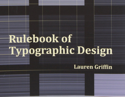 Rulebook of Typographic Design | Publication