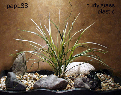 curly grass, plastic, 112012, ron beck designs
