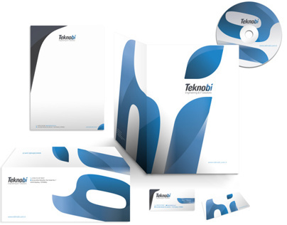 Teknobi Engineering & IT Solutions Logo Design