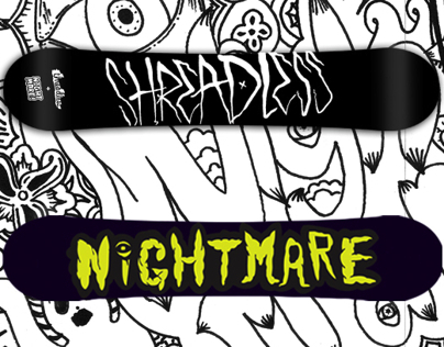 Nightmare x Threadless Snowboard