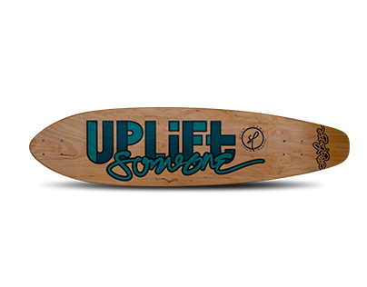 Uplift Someone Stay Loose Longboard