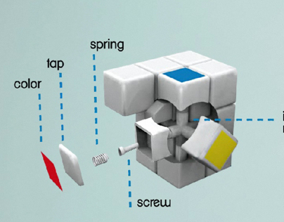 Rubiks Cube _STARTUP VIDEO ANIMATION
