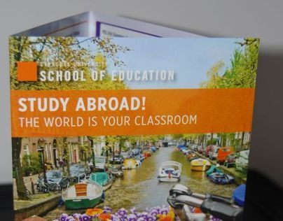 SU School of Ed Abroad Pamphlet