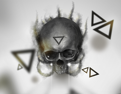 Triangles & a Smoky Skull