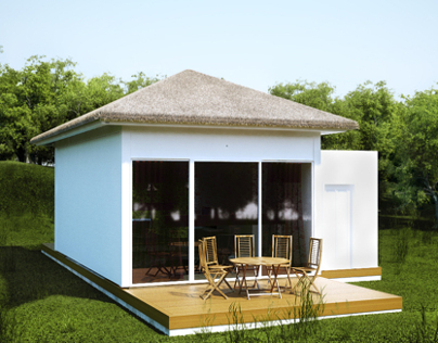 Bungalow for a hotel project