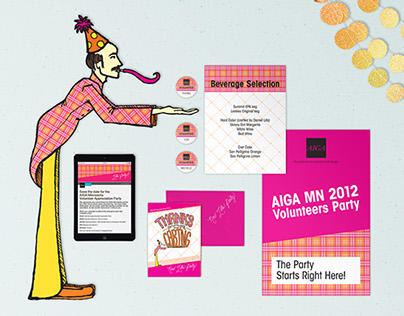 AIGA MN Volunteers Party 2012