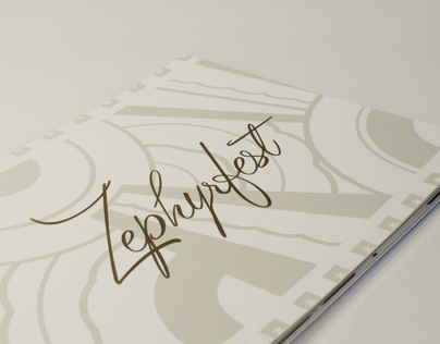 Zephyrfest 2012 Event Materials - Inspired by Art Deco