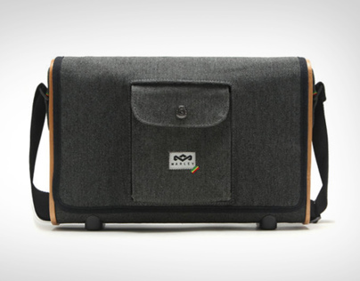 Roots Rock Portable Audio System/ bag design
