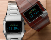 OLED wristwatch