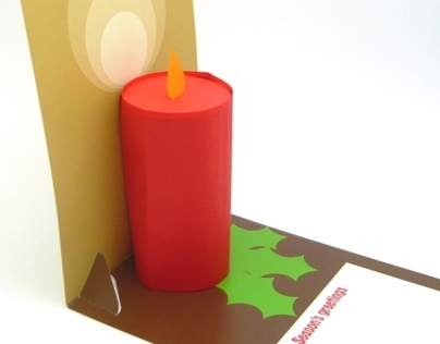 3D Pop-up Candle