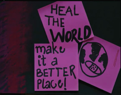 Heal the World- Stop motion animation