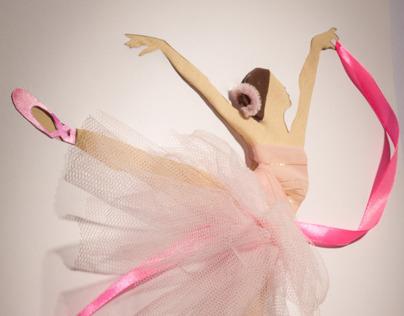 Poster for a Ballet Concert - Handmade