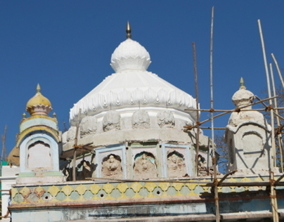 Restoration of  Hanuman Temple at Nirgude, Junnar Taluk