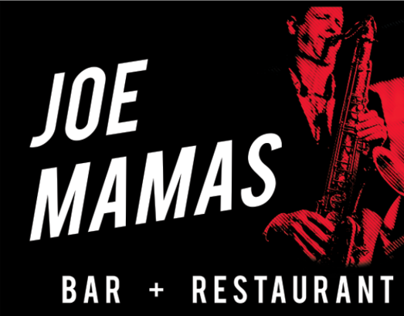 Joe Mamas Bar & Restaurant - Various Graphic Design