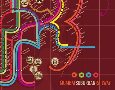 Mumbai Suburban Railway Map Redesign