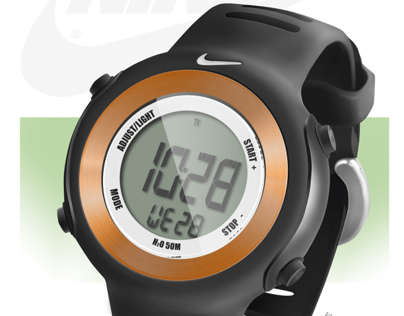 Nike Watch Digital Rendering