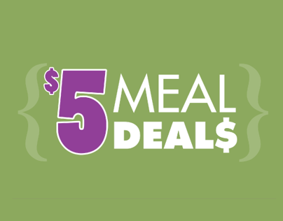 $5 Meal Deals- Aztec Shops