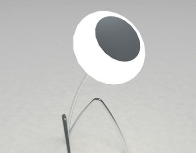 "Desk lamp ""Flower"""